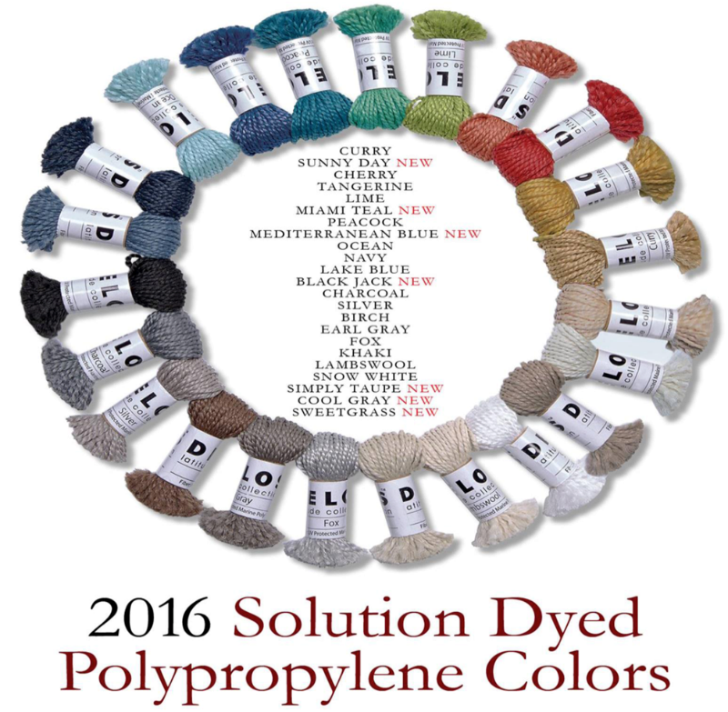 Solution Dyed Polypropylene Colors