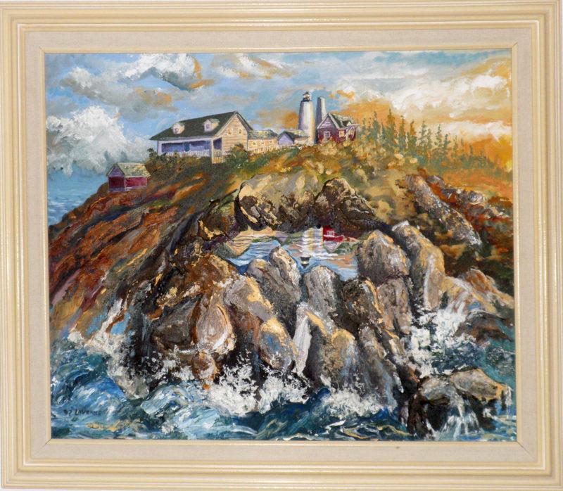 "507 - ""Pemaquid Point Light House"" Maine"