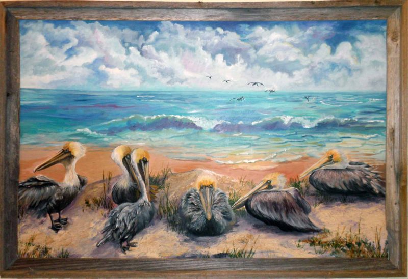 "527 – ""Meeting @ the Bar: (Sandbar)"" Pelicans"