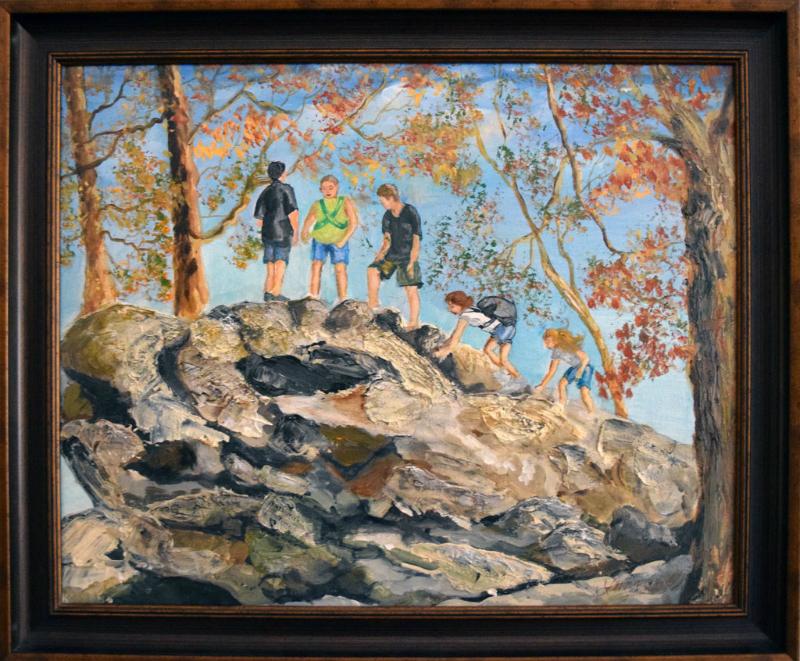 535 The Climbing Rock