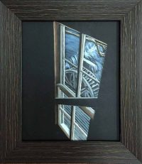 545 Window View of Water Wheel
