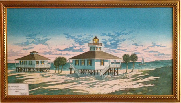 713-Boca-Grande-Lighthouse-Framed