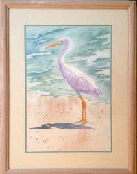 805 Egret With Attitude