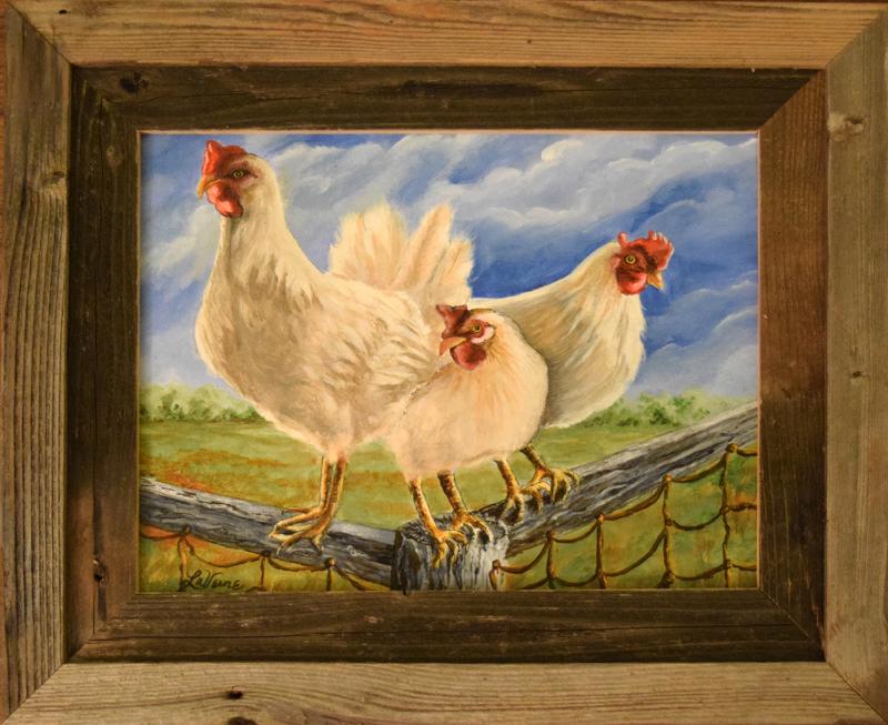 578 Girl Talk Leghorn Hens