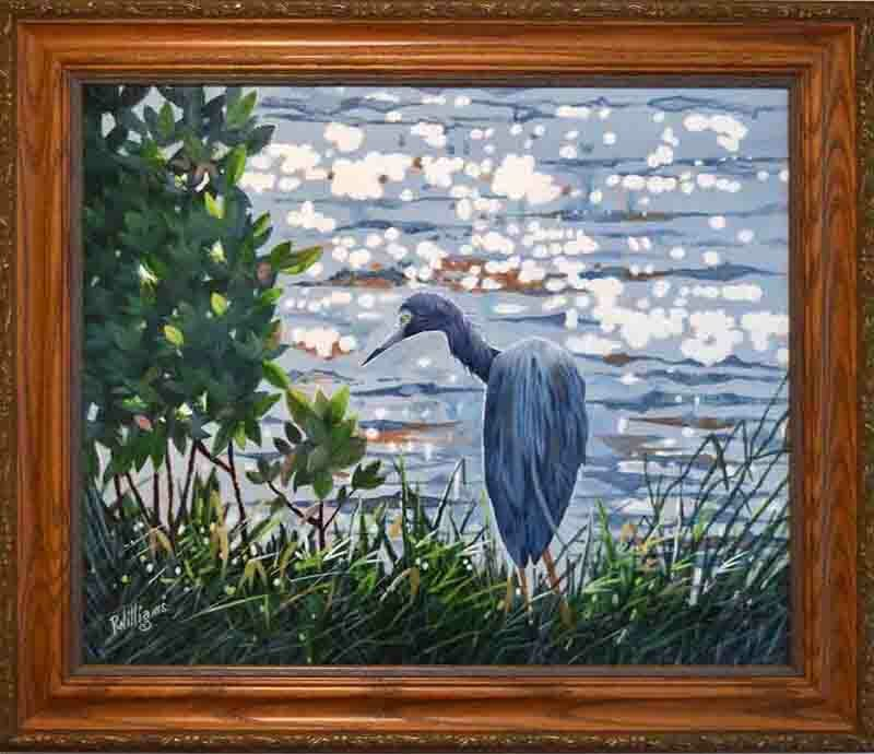 812 - Little Blue Heron Original