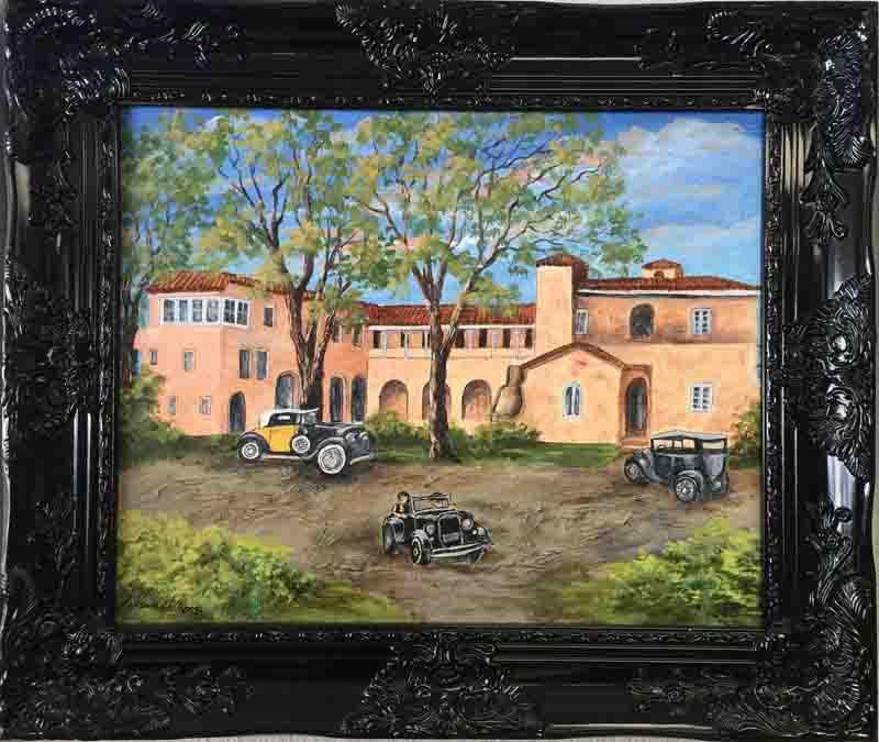 "920 - ""The Hacienda, Early 1900's"""