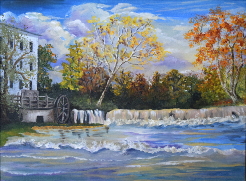 "219 - ""Mansfield Mill and Falls"""