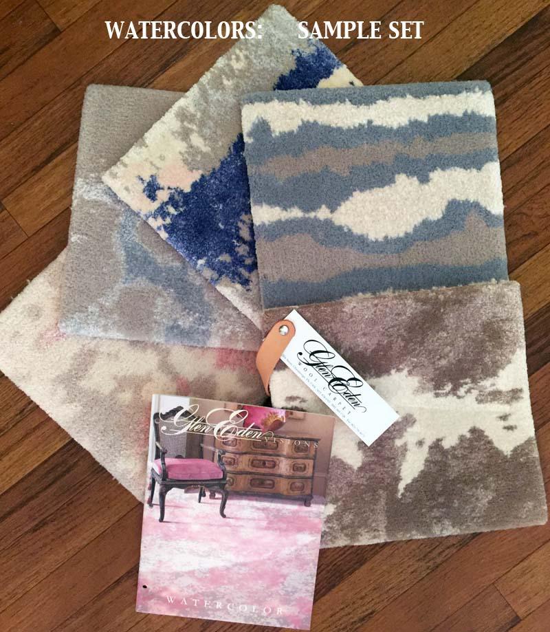 Glen Eden Watercolors Samples